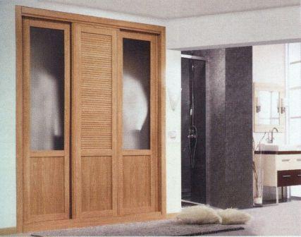 Frente de armario armarios ebanisteria esteban for Precio puerta roble