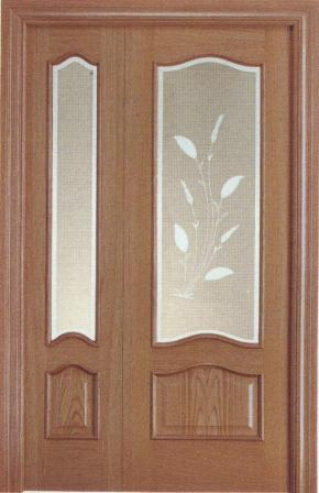 Puerta doble provenzal de interior o de paso puertas for Puerta doble madera